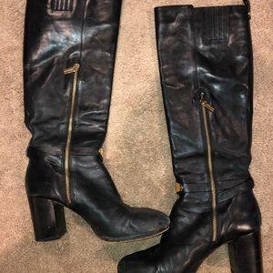 Michael Kors Genuine Leather heeled boots
